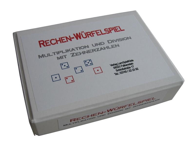 Rechen-Würfelspiel - Multiplikation und Division mit Zehnerzahlen von Verlag Lernspielkiste ...