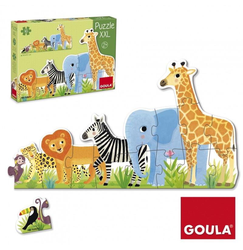 puzzle xxl  dschungel vom verlag lernspielkiste  shop